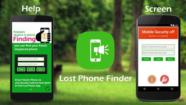 Lost Phone Finder apk screenshot