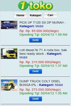 1Toko Online Market Place screenshot 1