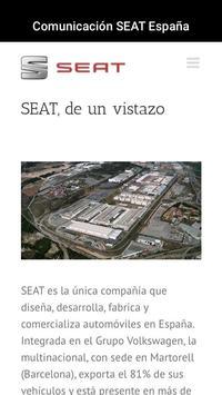 Comunicación SEAT España poster