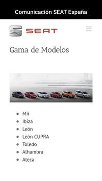 Comunicación SEAT España apk screenshot