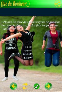 Citations Bonheur screenshot 4