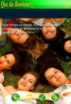 Citations Bonheur screenshot 5
