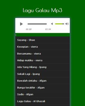 Lagu Galau Populer screenshot 2