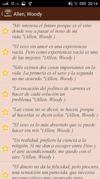 Сitas en Español apk screenshot