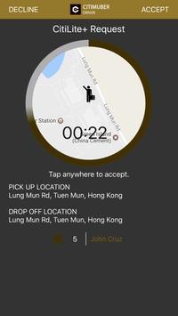Citimuber Driver App screenshot 3