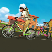 High School Cycling Ride – Bicycle Race icon