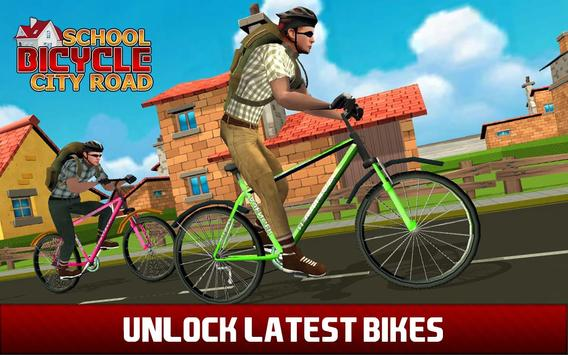 High School Cycling Ride – Bicycle Race apk screenshot
