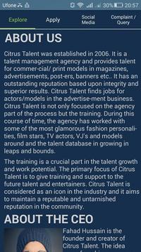 Citrus Talent (Beta) poster