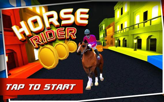 Horse Rider : City Race poster