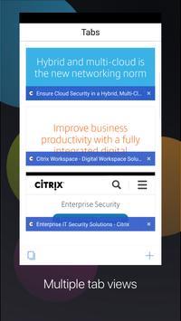 Citrix Secure Web apk screenshot
