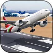 City Airplane Flight Simulator-Free 2017 icon