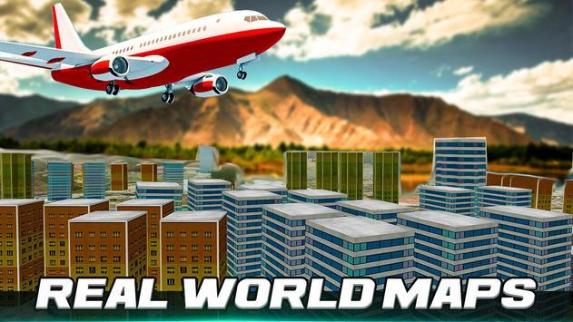 City Airplane Flight Simulator-Free 2017 apk screenshot