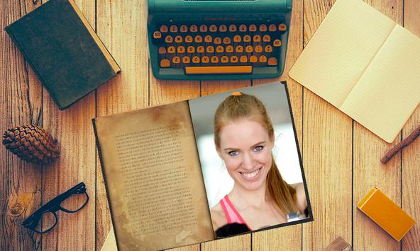 Book Photo Frames free apk screenshot