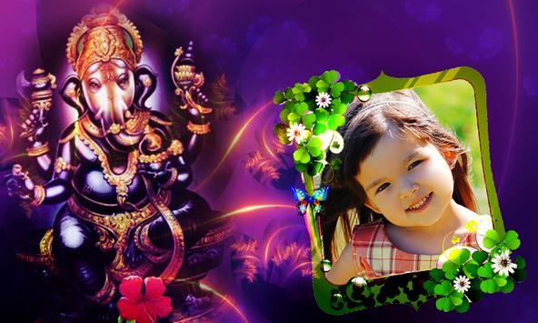 Ganesh Photo Frames free apk screenshot