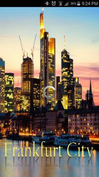 frankfurt city guide poster