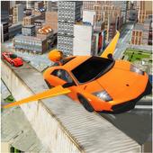 Flying Car Stunts Grand City:Flying Car Simulator icon