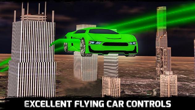 Flying Car Stunts Grand City:Flying Car Simulator apk screenshot
