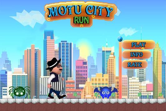 Motu City Run poster