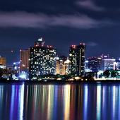 city skyline live wallpaper icon