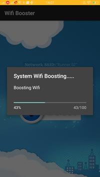 Wifi mobile Booster Simulator apk screenshot