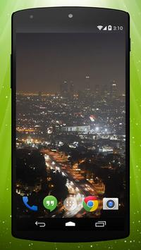 City Traffic Live Wallpaper poster