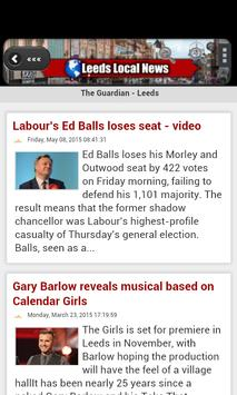 Leeds Local News apk screenshot