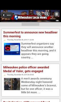 Milwaukee Local News apk screenshot