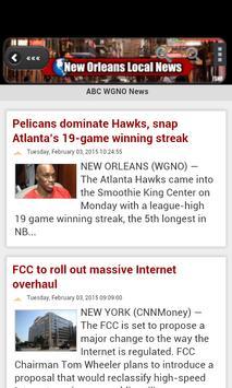 New Orleans Local News apk screenshot