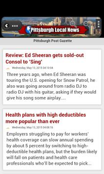Pittsburgh Local News apk screenshot