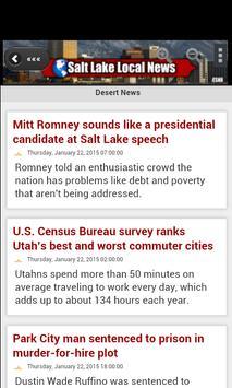 Salt Lake Local News apk screenshot