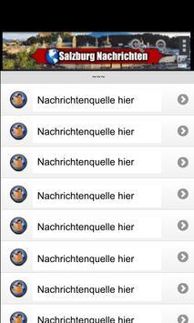 Salzburg Nachrichten poster