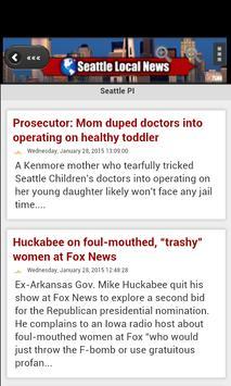 Seattle Local News screenshot 1