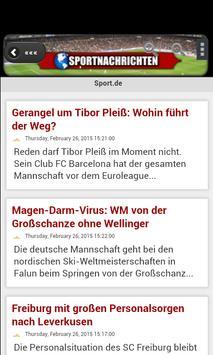 Sport Aktuell apk screenshot