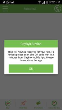 CityByk apk screenshot