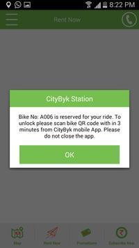 CityByk Fleet screenshot 3