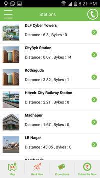 CityByk Fleet screenshot 2