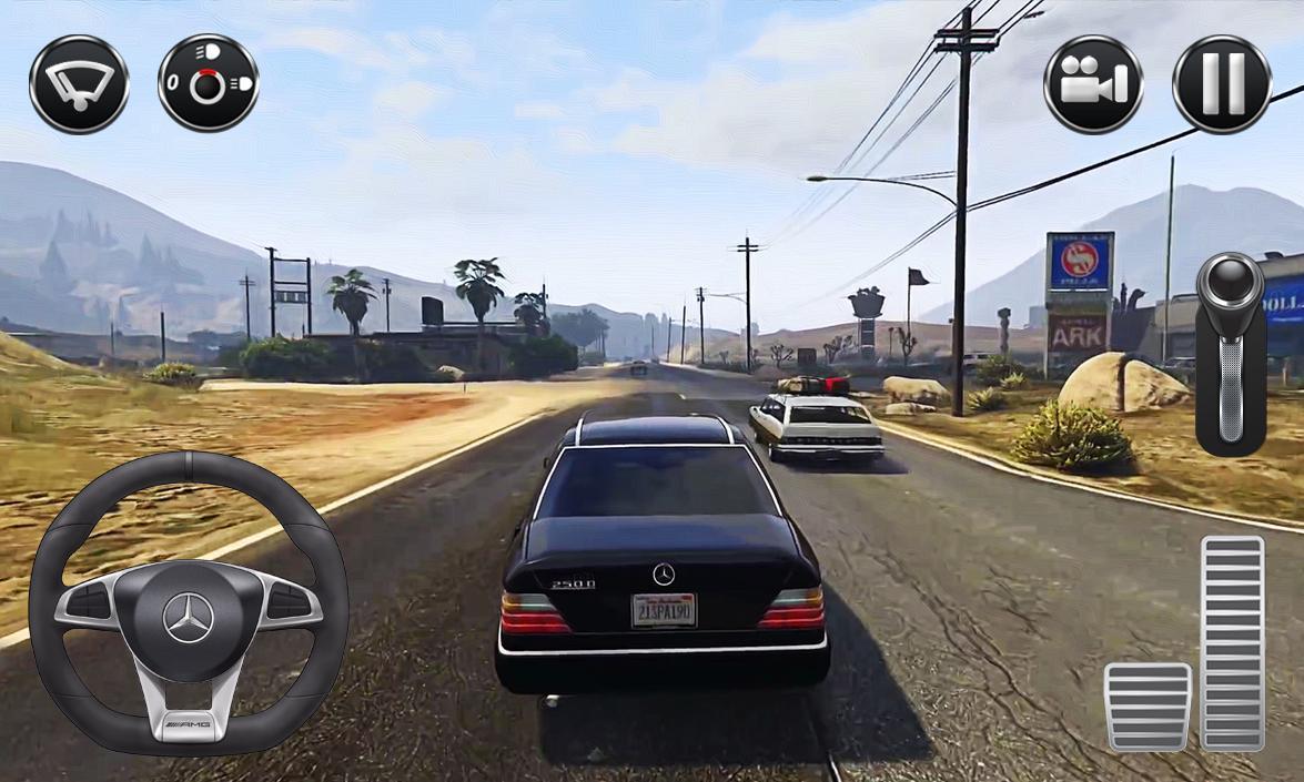 city car driving simulator game