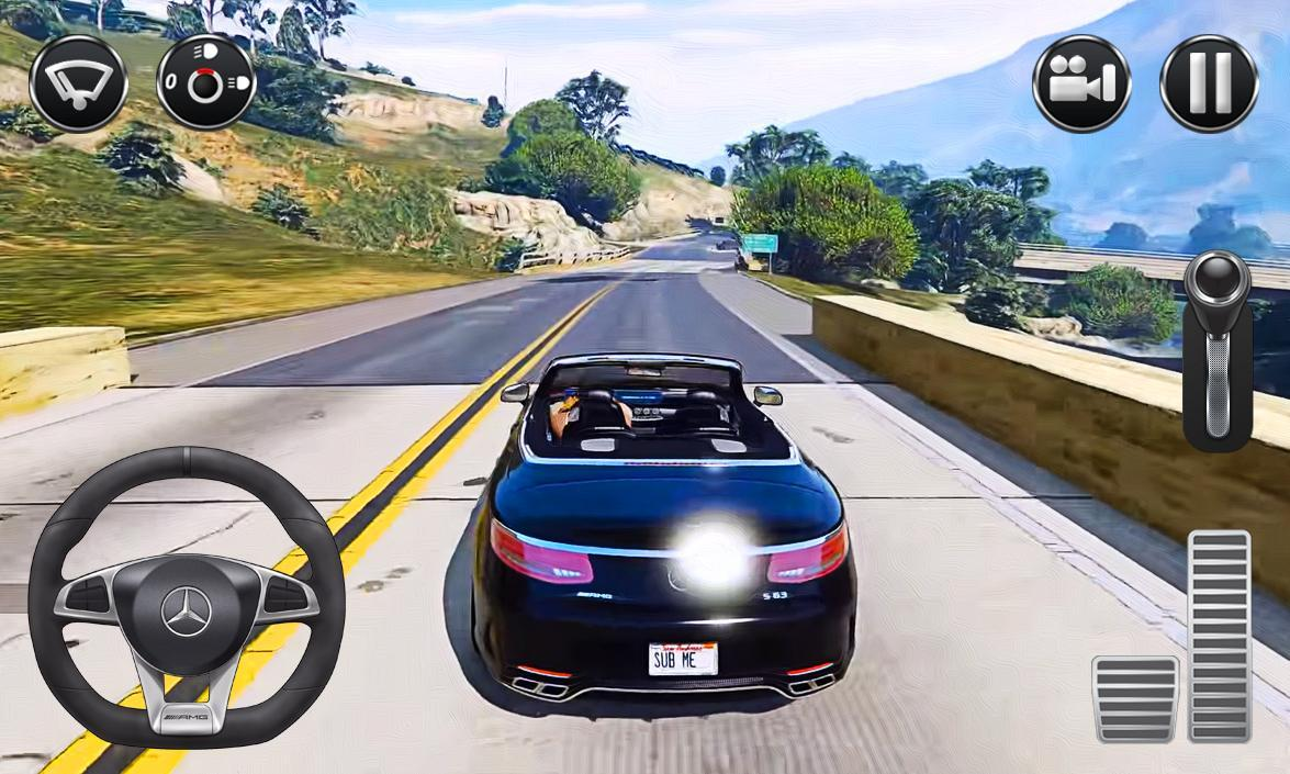 Real Driving Games >> Real Car Driving Mercedes For Android Apk Download