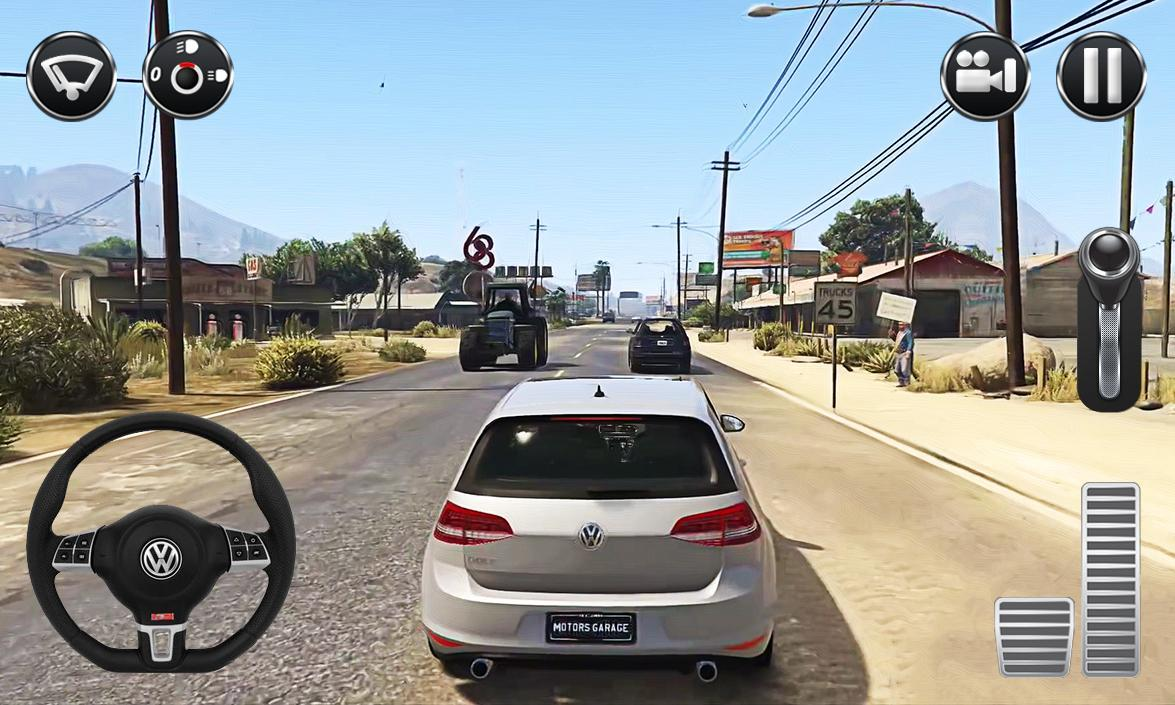 Real Driving Games >> Real Car Driving Golf For Android Apk Download