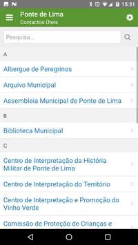 Município de Ponte de Lima apk screenshot