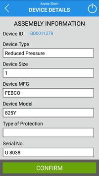Ventura County Backflow Test apk screenshot