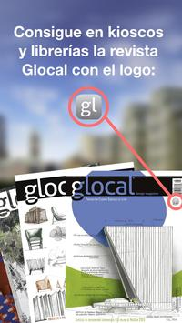 glocal design magazine poster