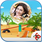 Beaches Photo frames effects icon