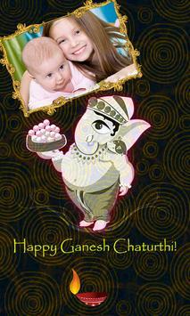 Ganesh Chaturthi photo frames poster