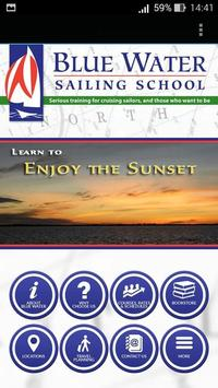Blue Water Sailing School poster