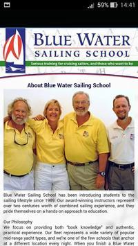 Blue Water Sailing School screenshot 2