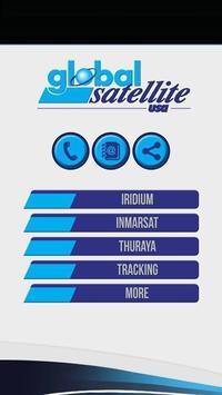 Global Sattelite USA poster