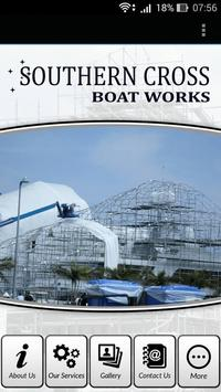 Southern Cross Boat Works poster