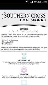 Southern Cross Boat Works apk screenshot