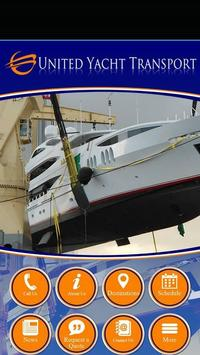 United Yacht Transport poster